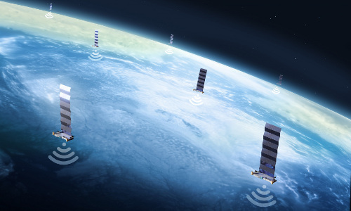 SpaceX's Starlink network.